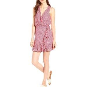 Rails gingham Madison summer wrap dress